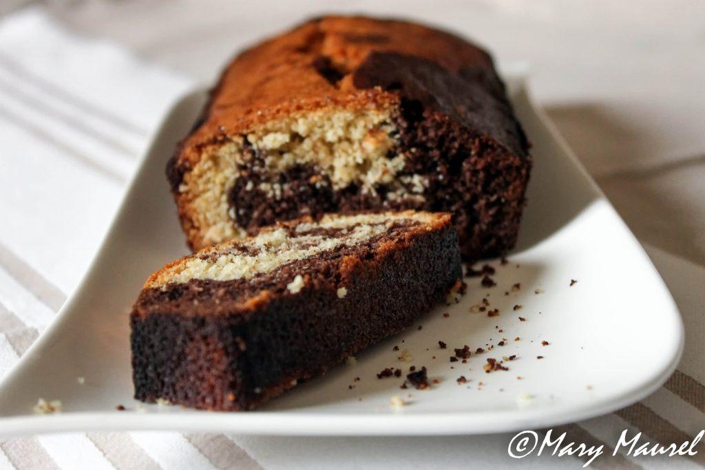 Marbré chocolat/coco