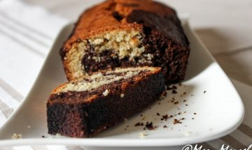 Marbré léger chocolat-coco