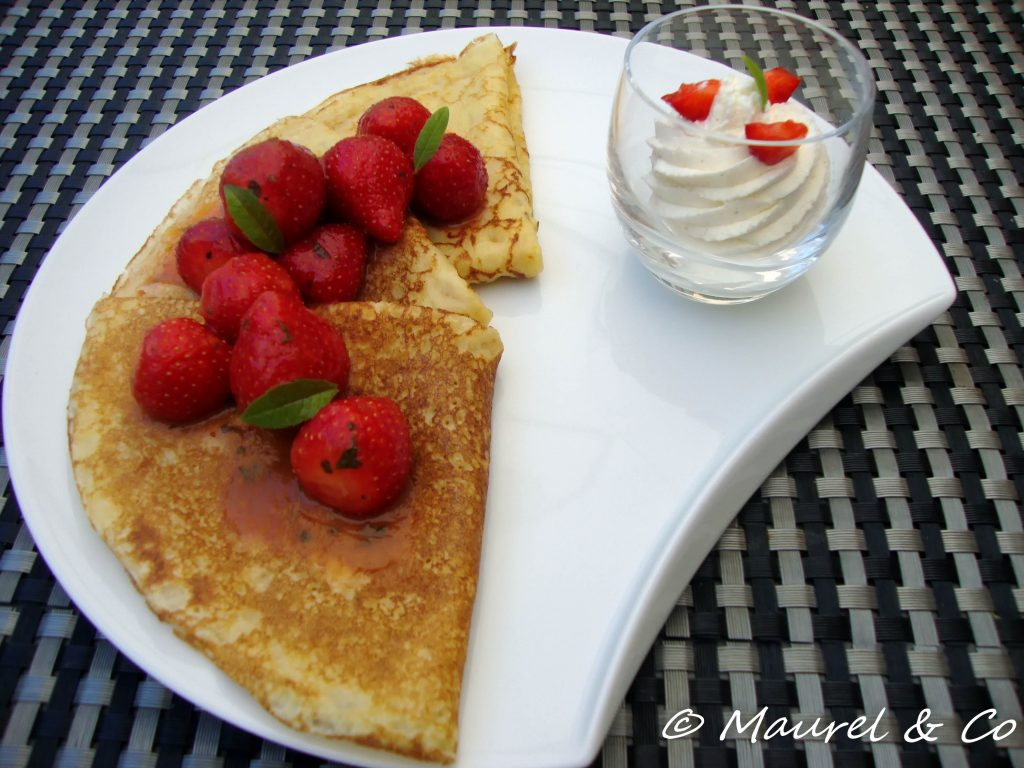 crepes fraises passion