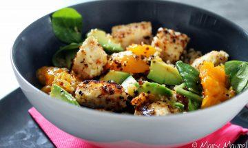 salade de poulet coco
